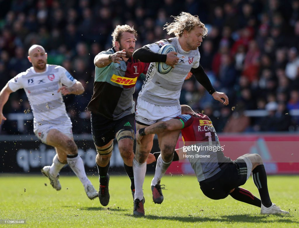 Harlequins v Gloucester Rugby - Gallagher Premiership Rugby : News Photo