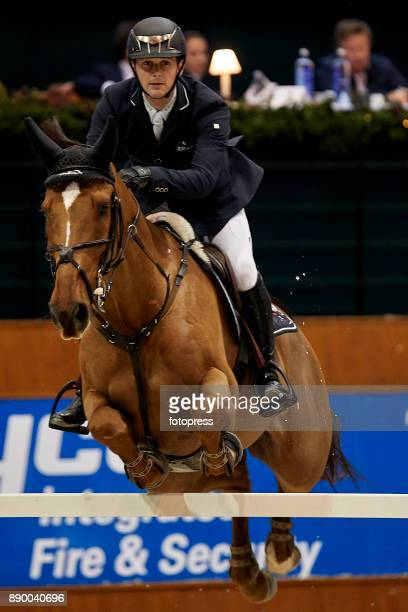 Billy Twomey attends during CSI Casas Novas Horse Jumping Competition on December 10 2017 in A Coruna Spain
