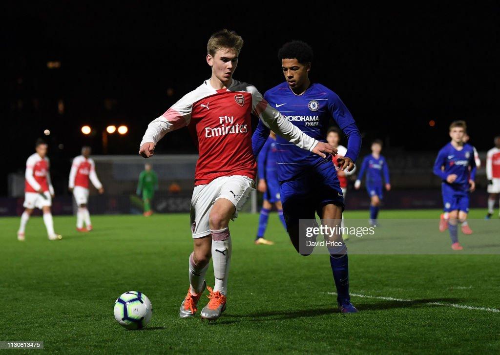 Arsenal U16 v Chelsea U16: Premier League Cup Final : News Photo