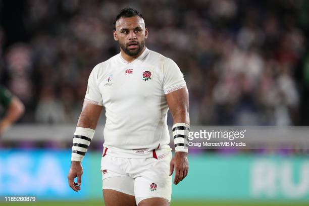Billy Vunipola of England looks on during the Rugby World Cup 2019 Final between England and South Africa at International Stadium Yokohama on...
