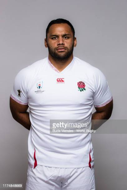Billy Vunipola of England poses for a portrait during the England Rugby World Cup 2019 squad photo call on September 15 2019 in Miyazaki Japan