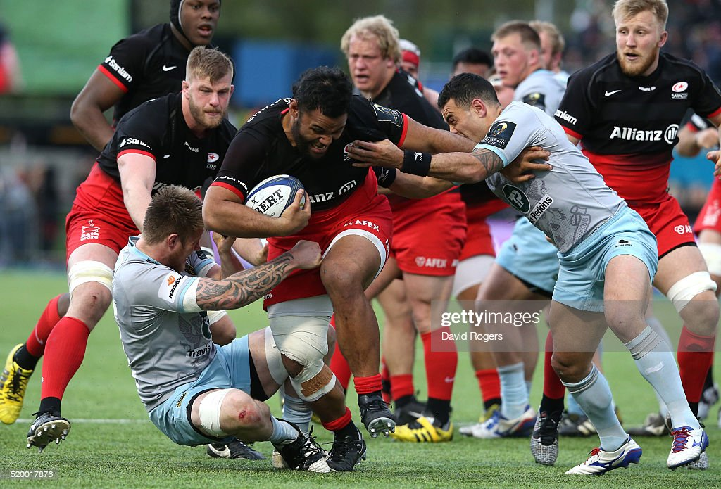 Saracens v Northampton Saints - European Rugby Champions Cup Quarter Final : News Photo