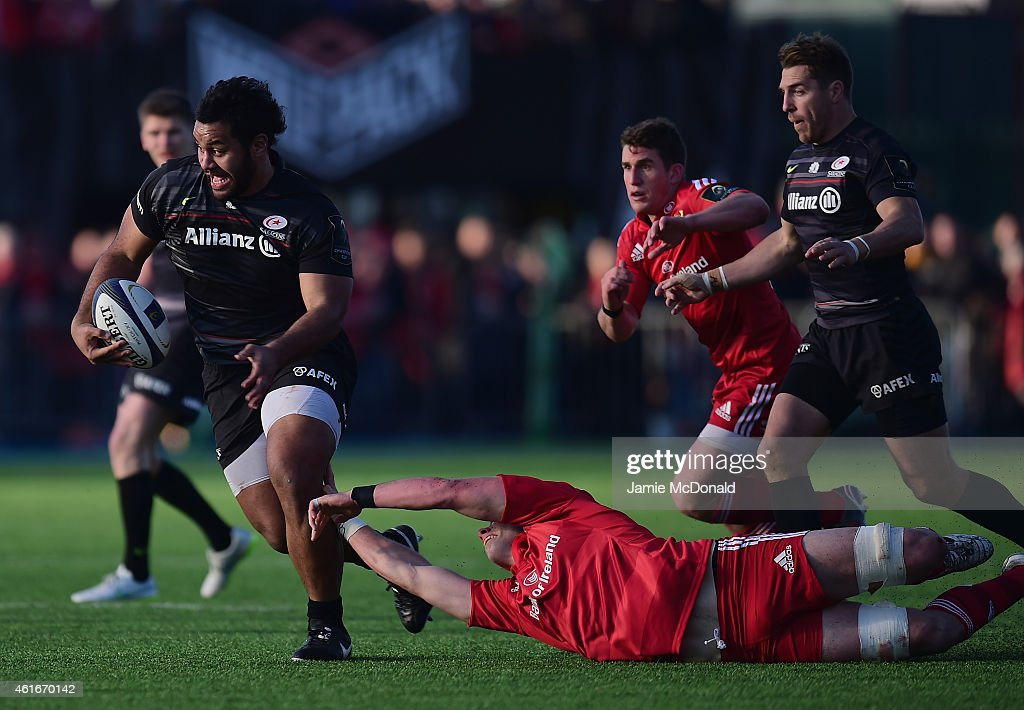 Saracens v Munster Rugby - European Rugby Champions Cup : ニュース写真