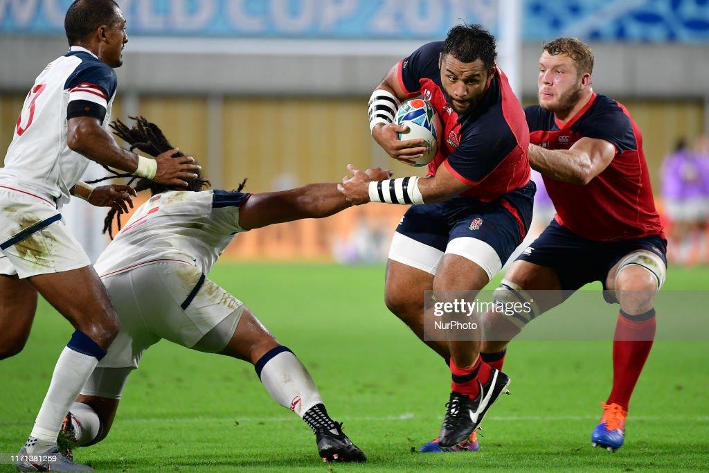England v USA - Rugby World Cup 2019 Pool C : News Photo