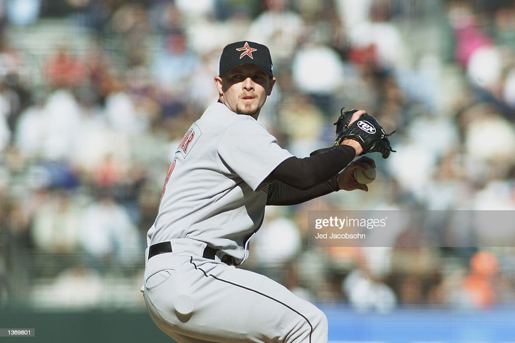 Wagner pitches : News Photo