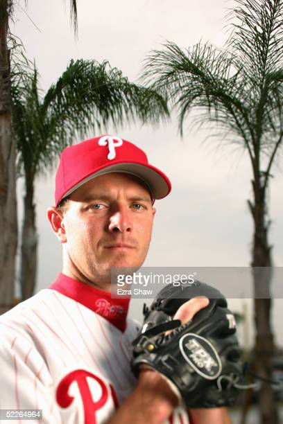 Billy Wagner of the Philadelphia Phillies poses for a portrait during Phillies Photo Day at Bright House Networks Field on February 24, 2005 in...