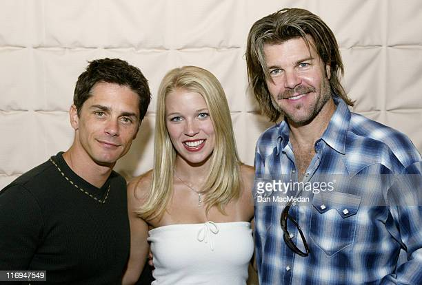 Billy Warlock Alicia Leigh Willis and Blake Gibbons