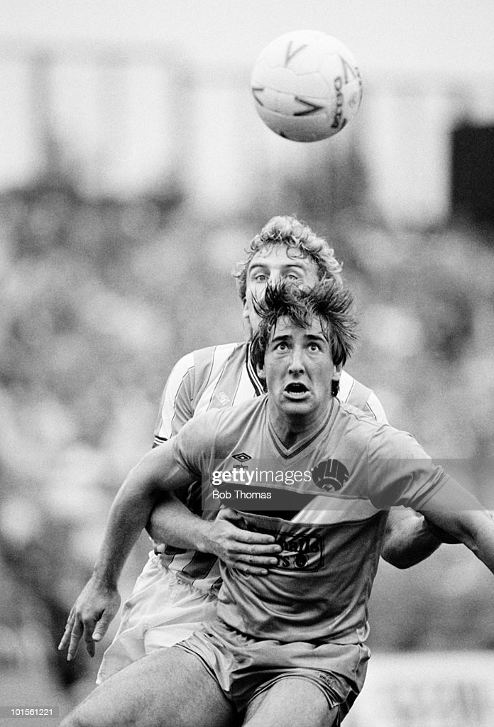 Billy Whitehurst of Newcastle United in action against Coventry City during a Division One football match held at Highfield Road, Coventry on 13th September 1986. Coventry City beat Newcastle United 3-0. (Bob Thomas/Getty Images).