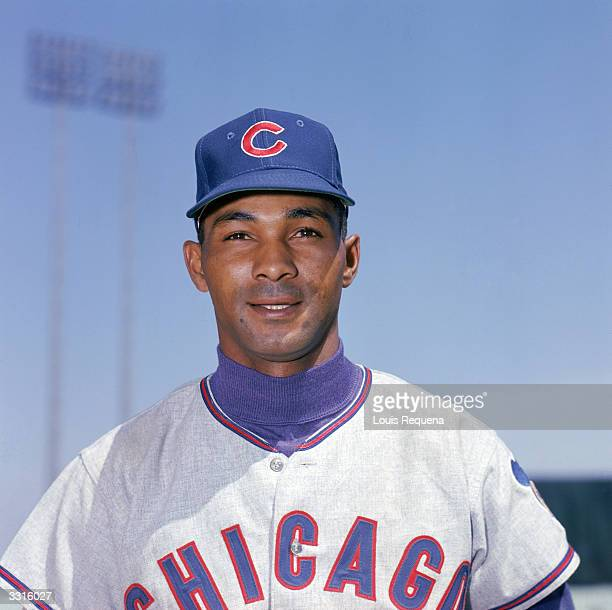 Billy Williams of the Chicago Cubs poses for a portrait circa 195974
