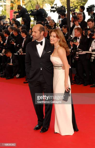 Billy Zane and Kelly Brook during 2007 Cannes Film Festival Opening Night Gala and World Premiere of 'My Blueberry Nights' Arrivals at Palais de...