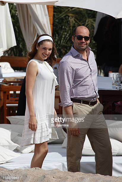 Billy Zane and Kelly Brook during 2007 Cannes Film Festival Sightings Day 2 in Cannes France