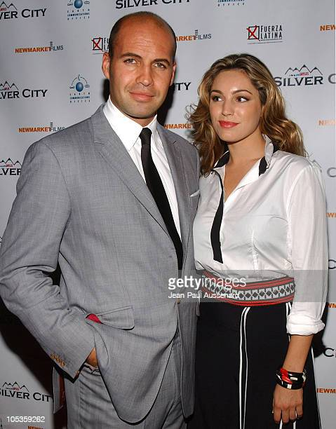 Billy Zane and Kelly Brook during 'Silver City' Los Angeles Premiere Arrivals at The ArcLight in Hollywood California United States