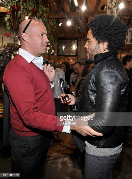 d2673072249b1 Billy Zane and Lenny Kravitz attend Church Boutique and Sama Eyewear...  News Photo