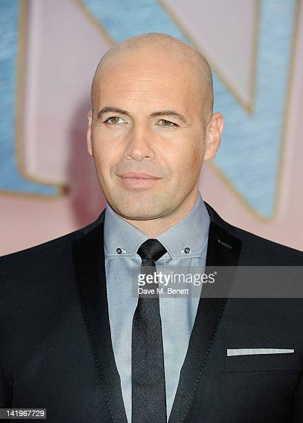 Billy Zane arrives at the World Premiere of 'Titanic 3D' at the Royal Albert Hall on March 27 2012 in London England