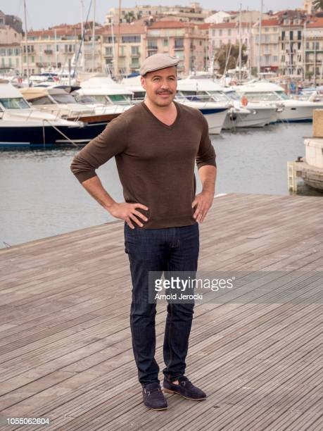 Billy Zane attend the 'Curfew' photocall as part of the MIPCOM 2018 on October 15 2018 in Cannes France