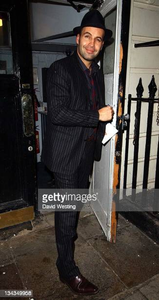 Billy Zane during Billy Zane Sighting in London November 24 2006 at The Haymarket Theatre Royal in London Great Britain