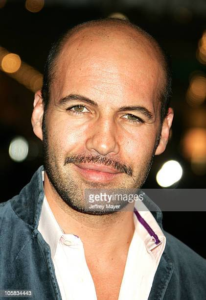 Billy Zane during 'BloodRayne' Los Angeles Premiere Arrivals at Mann's Chinese in Hollywood California United States