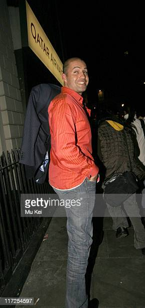 Billy Zane during LG Chocolate Phone Launch Party at Sketch in London Great Britain