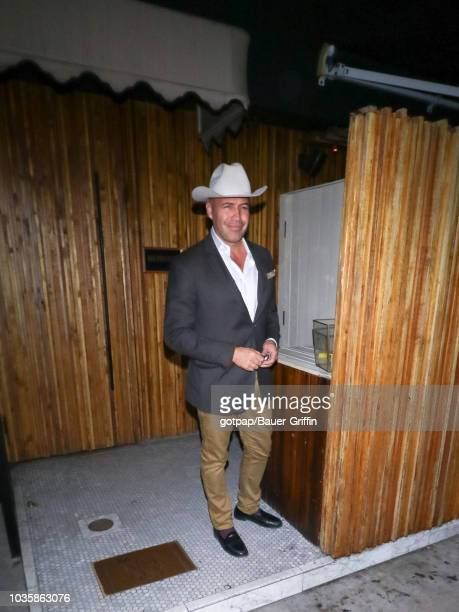 Billy Zane is seen on September 19 2018 in Los Angeles California