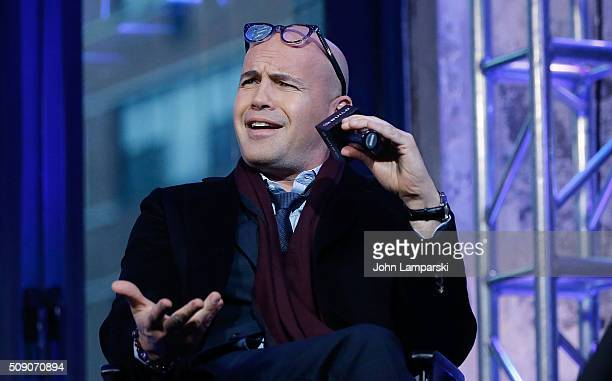 Billy Zane of 'Mad Dogs' and 'Zoolander 2' attends AOL Build Speaker Series at AOL Studios In New York on February 8 2016 in New York City