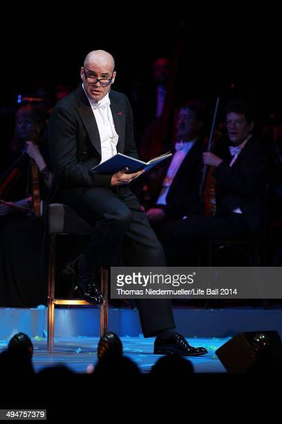 Billy Zane performs at the 'Red Ribbon Celebration Concert United in Difference' at Burgtheater on May 30 2014 in Vienna Austria