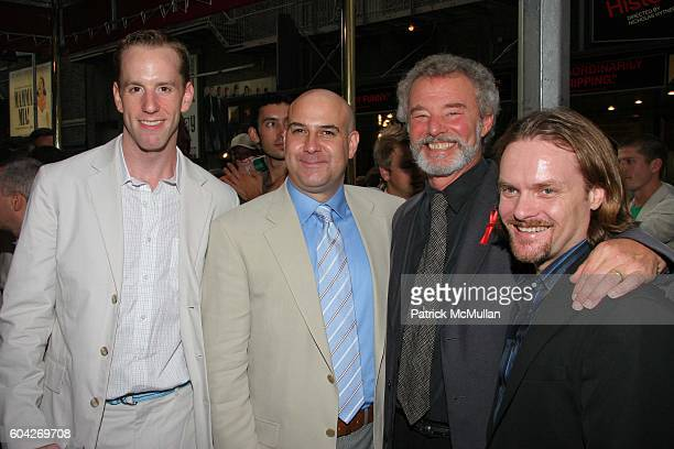 Billy Zavelson Jamie Cesa Jonathan Reinis and David Foster attend Kiki Herb Alive On Broadway Opening Night Theatre Arrivals at Helen Hayes Theatre...