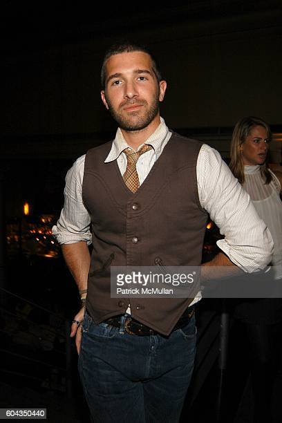 Billy Zeb Smith attends Equinox and Champagne Perrier Jouet Toast Patrick McMullan in Honor of His New Book KISS KISS at Bix Restaurant on March 20,...