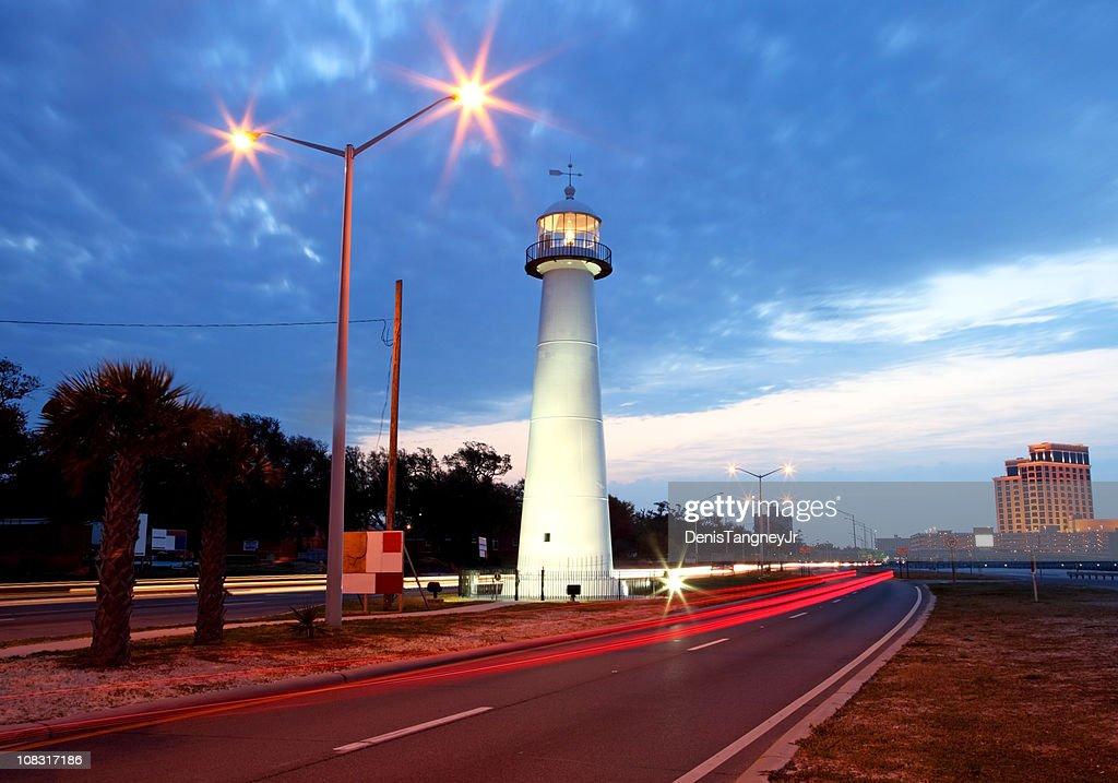 Biloxi Lighthouse : Stock Photo
