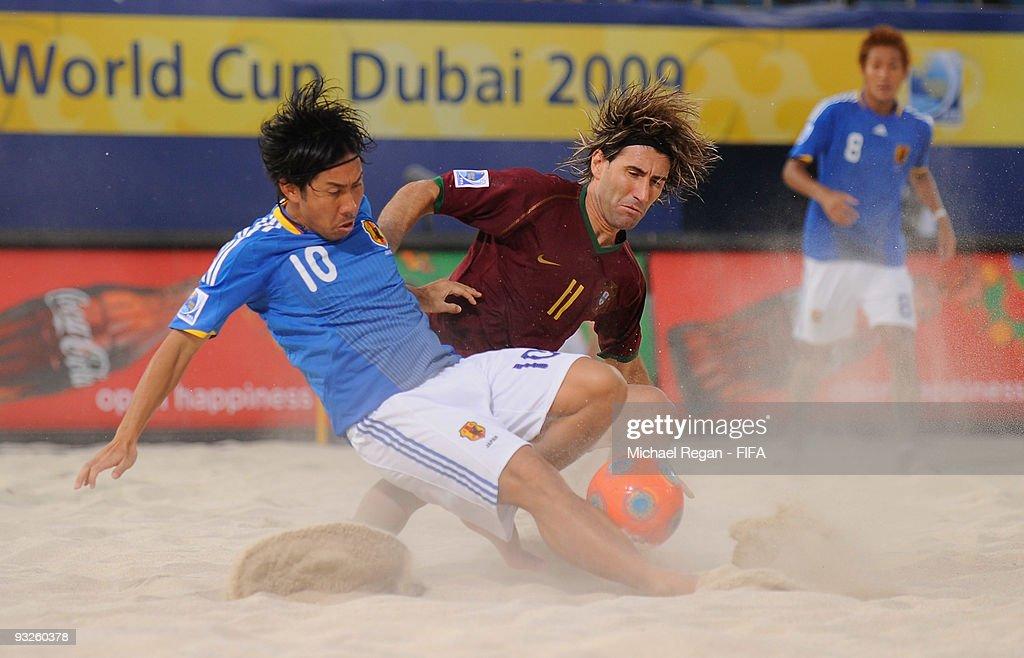 Japan v Portugal Quarter Final - FIFA Beach Soccer World Cup : News Photo