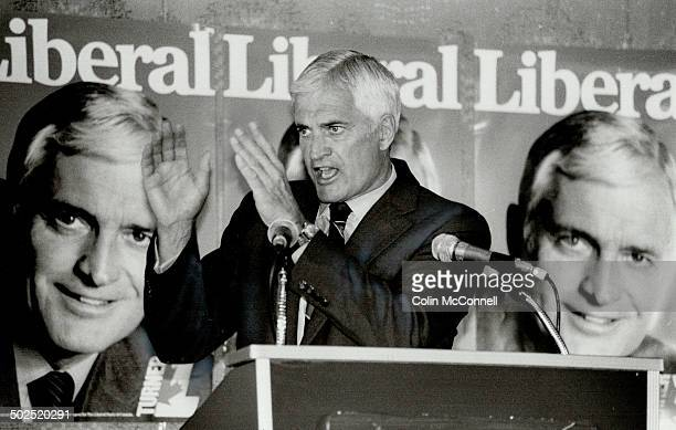 Bilstering attack Prime Minister John Turner accuses Progressive Conservative leader Brian Mulroney of trying to buy voters with their own money in a...