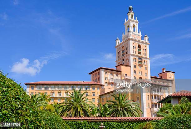biltmore hotel in coral gables, fl - coral gables stock pictures, royalty-free photos & images
