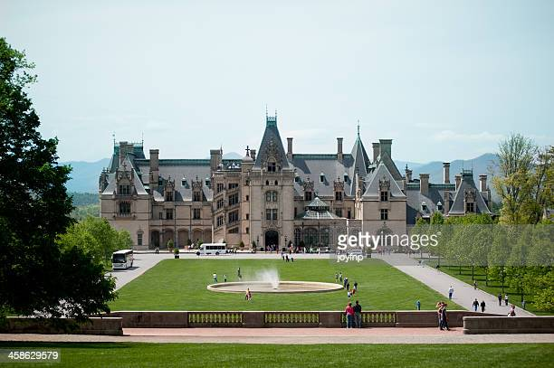 biltmore house - asheville stock pictures, royalty-free photos & images