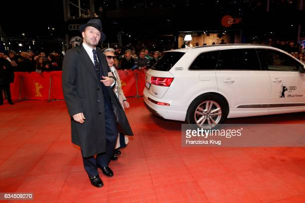 Bim Bam Merstein attends the 'Django' premiere during the 67th Berlinale International Film Festival Berlin at Berlinale Palace on February 9 2017 in...