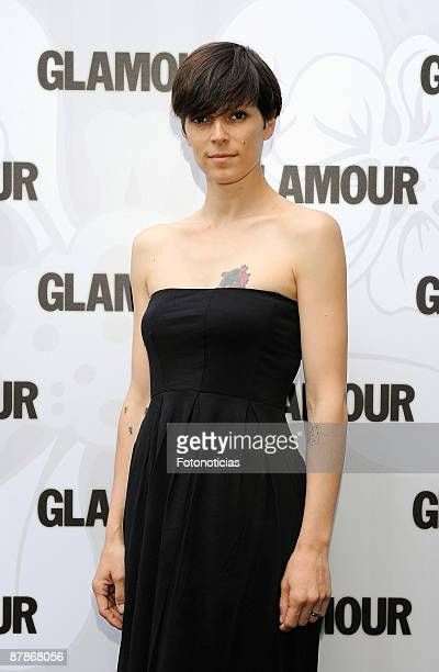 Bimba Bose arrives at the 7th Glamour Magazine Beauty Awards,held at the Villa Magna Hotel on May 20, 2009 in Madrid, Spain.