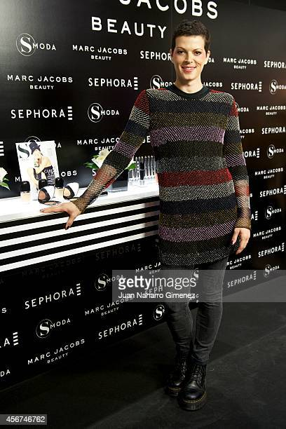 Bimba Bose attends 'Sephora Loves Marc Jacobs' party at Sephora store on October 6, 2014 in Madrid, Spain.