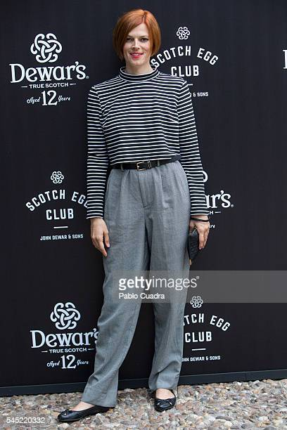 Bimba Bose attends the Dewar's Scotch Egg Club opening party at the Real Fabrica de Tapices on July 6, 2016 in Madrid, Spain.