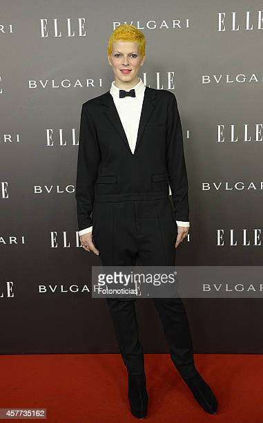 Bimba Bose attends the Elle Style Awards party at the Italian Embassy on October 23, 2014 in Madrid, Spain.