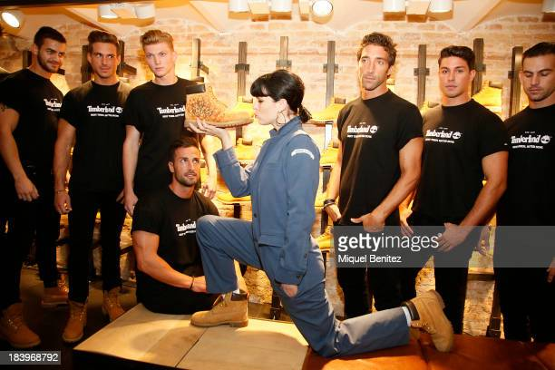 Bimba Bose attends the New Timberland Flagship inauguration at Passeig de Gracia on October 10, 2013 in Barcelona, Spain.