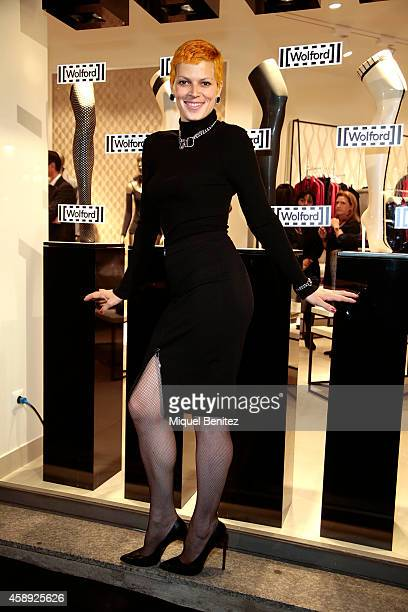 Bimba Bose attends the Wolford Opening Store on November 13, 2014 in Barcelona, Spain.