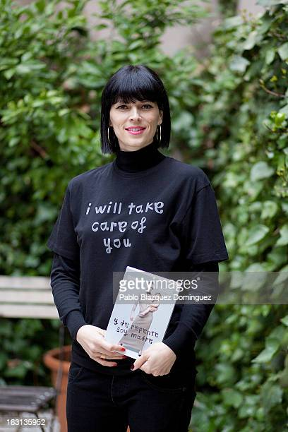 Bimba Bose attends 'Y De Repente Soy Madre' book presentation at Baby Deli shop on March 5, 2013 in Madrid, Spain.