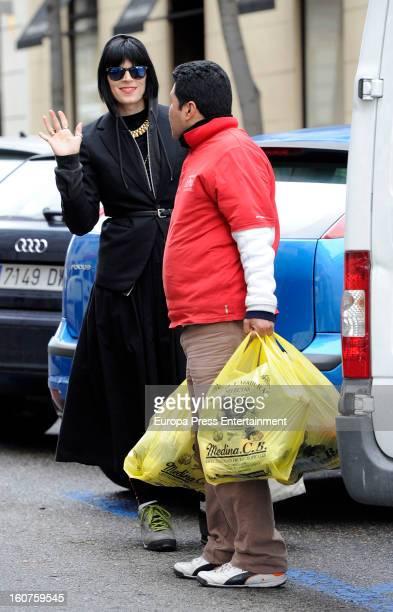 Bimba Bose is seen on January 17, 2013 in Madrid, Spain.