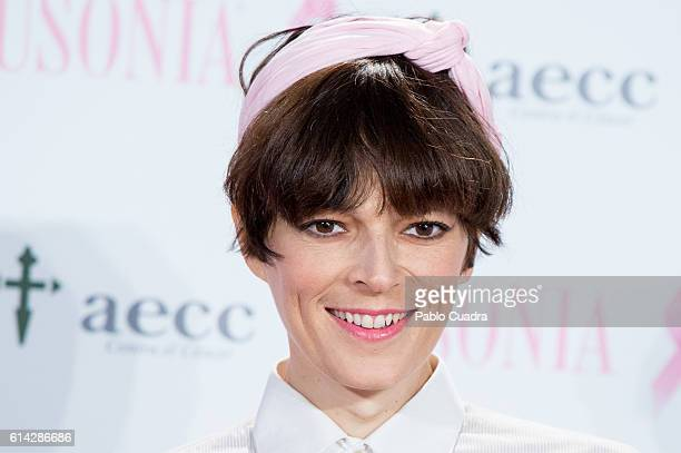 Bimba Bose presents the 'TuApoyoCuenta' campaign against breast cancer on October 13, 2016 in Madrid, Spain.