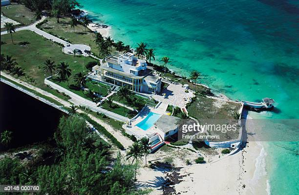 bimini hotel in bahamas - bimini stock photos and pictures
