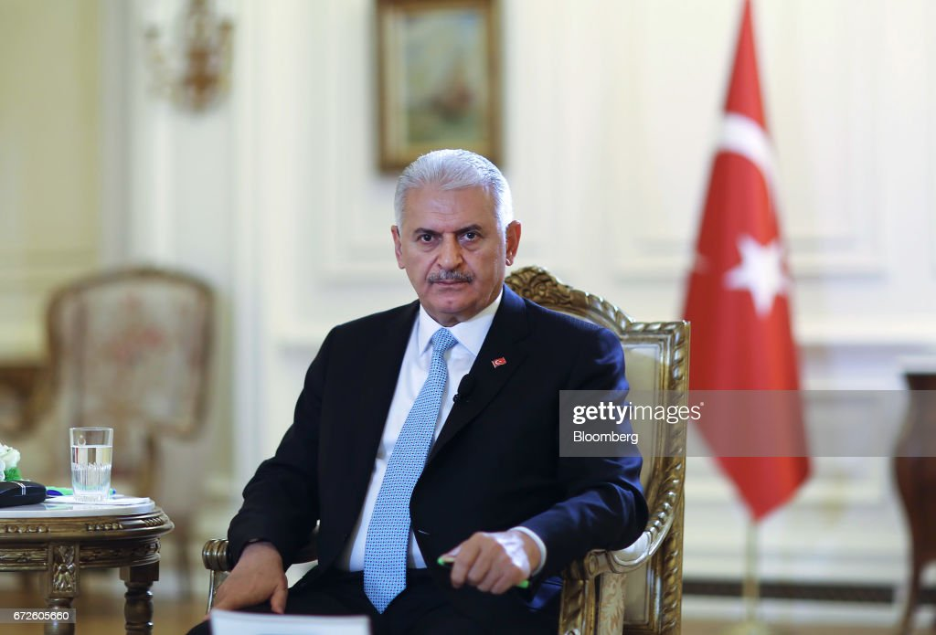 Turkish Prime Minister Binali Yildirim Interview