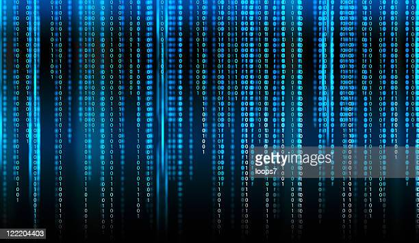 binary code - digitally generated image stock pictures, royalty-free photos & images