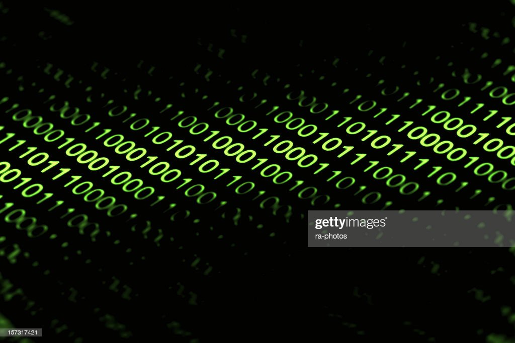 Binary code : Stock Photo