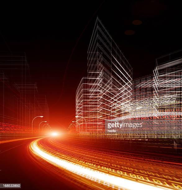 código binario - vertical red tube fotografías e imágenes de stock