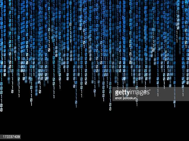 binary code - numbers stock photos and pictures
