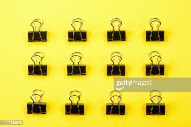 binder clip - binder clip stock pictures, royalty-free photos & images