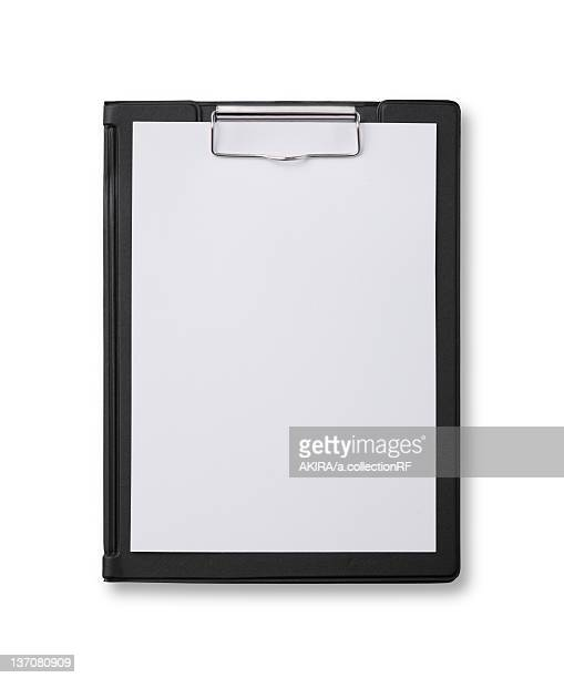 Binder with a paper